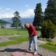 Minigolf in Oberhofen28. Mai 2016