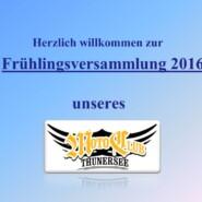 Frühlingsversammlung 2016 7. April 2016