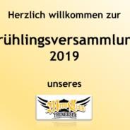 Frühlingsversammlung   5. April 2019