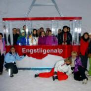 Fondue im Iglu / Engstligenalp 18. Januar 2014